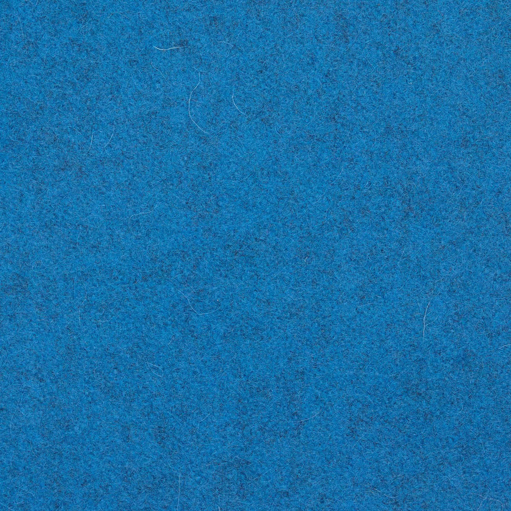 Caribbean Blue Melton Wool Coating