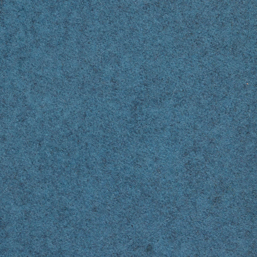 Cadet Blue Melton Wool Coating
