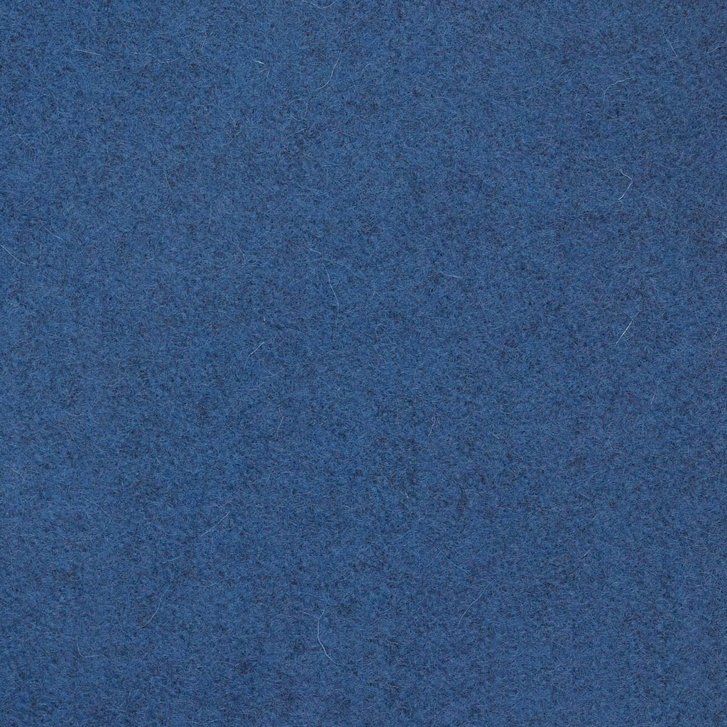 Oxford Blue Melton Wool Coating
