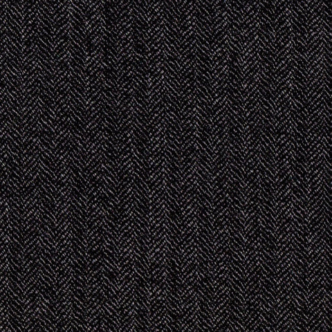 Dark Grey Herringbone Jacketing - 4.00 Metres