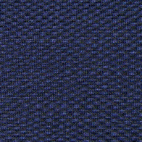 Navy Blue Mohair & Super 110's Italian Wool