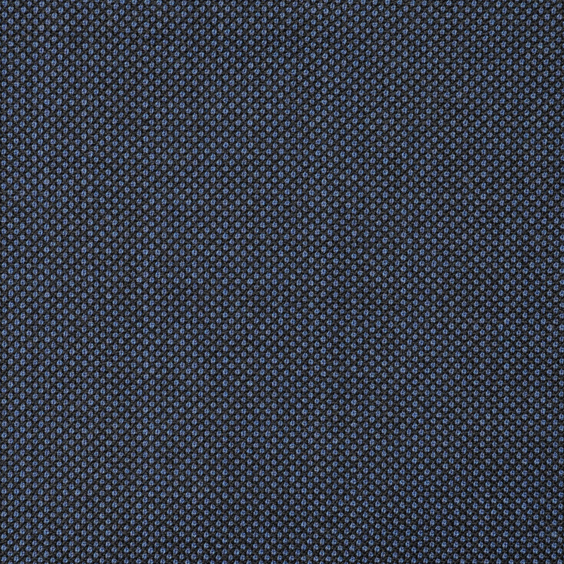 Medium Blue Birdseye Super 110's Italian Wool