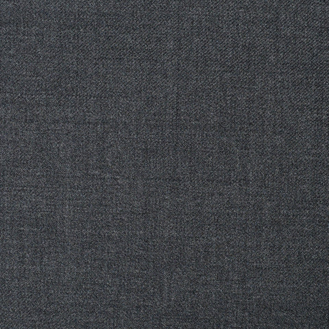 Medium Grey Twill Super 110's Italian Wool