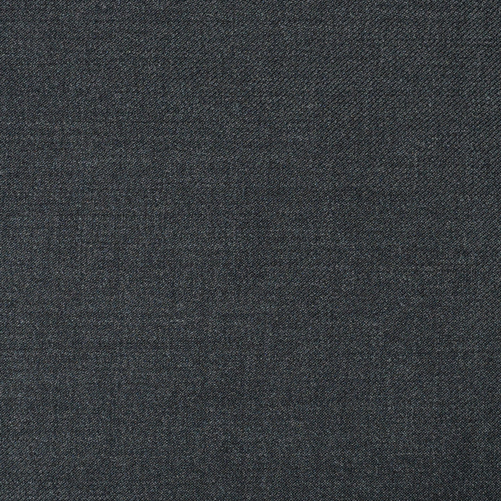 Dark Grey Twill Super 110's Italian Wool