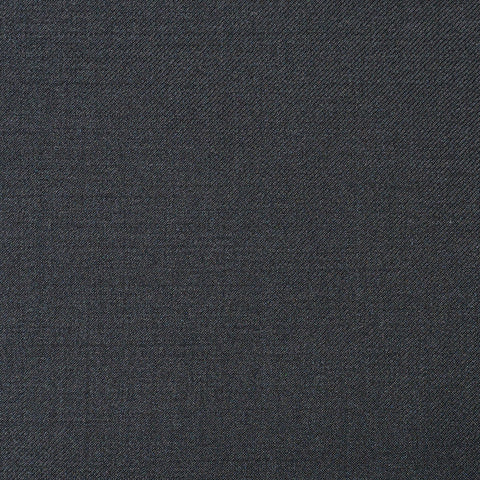 Black Twill Super 110's Italian Wool