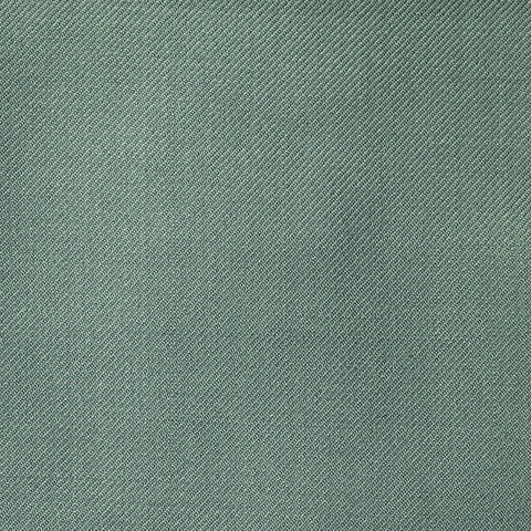 Duck Egg Blue Twill All Wool Suiting
