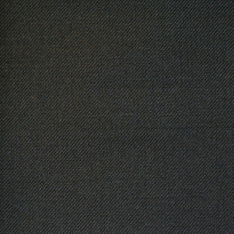 Dark Brown Twill All Wool Suiting