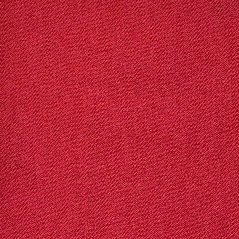 Red Twill All Wool Suiting
