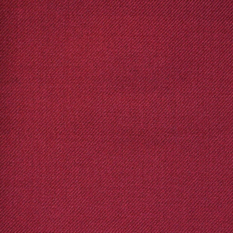 Wine Twill All Wool Suiting