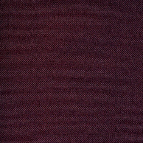 Maroon Twill All Wool Suiting