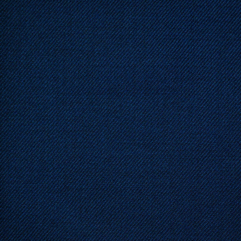 Medium Blue Twill All Wool Suiting