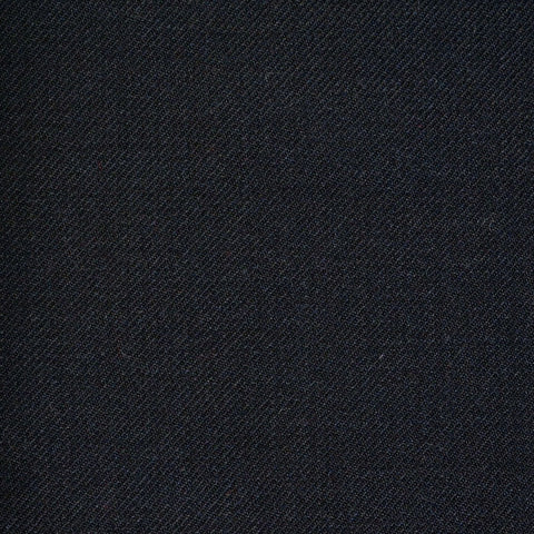Black Twill All Wool Suiting