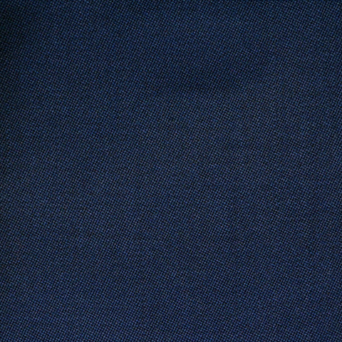 Bright Navy Blue Barathea All Wool Suiting