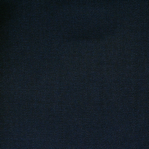 Dark Navy Blue Barathea All Wool Suiting