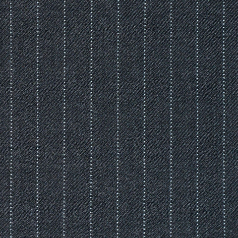 Medium Grey Pinstripe Super 110's Suiting
