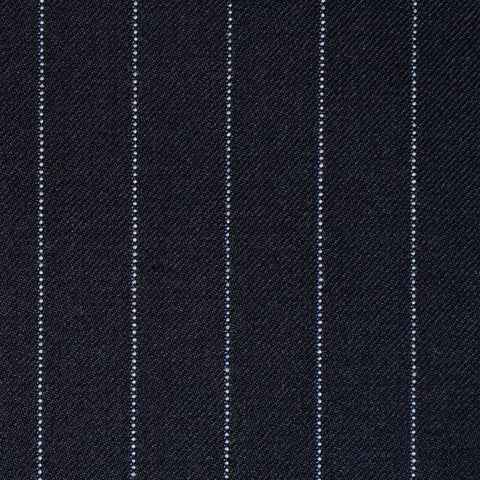Navy Blue Pinstripe Super 110's Suiting