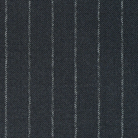 Medium Grey Chalkstripe Super 110's Suiting