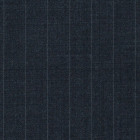 Grey Chalkstripe Super 120's All Wool Suiting