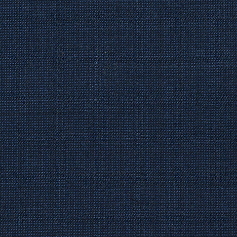 Navy Blue Nailhead Super 120's All Wool Suiting