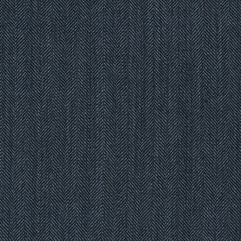 Grey Herringbone Super 120's All Wool Suiting