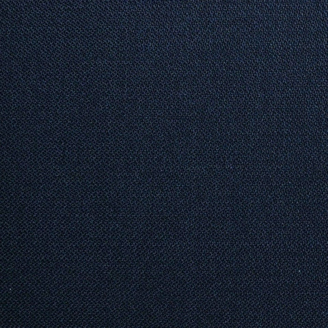 Navy Blue Plain Weave Super 120's All Wool Suiting