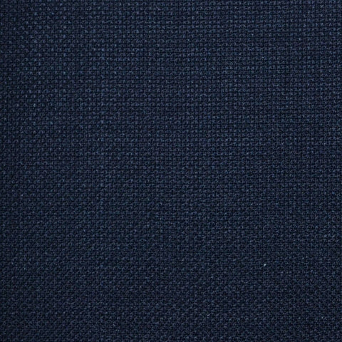 Navy Blue Pick & Pick Super 120's All Wool Suiting