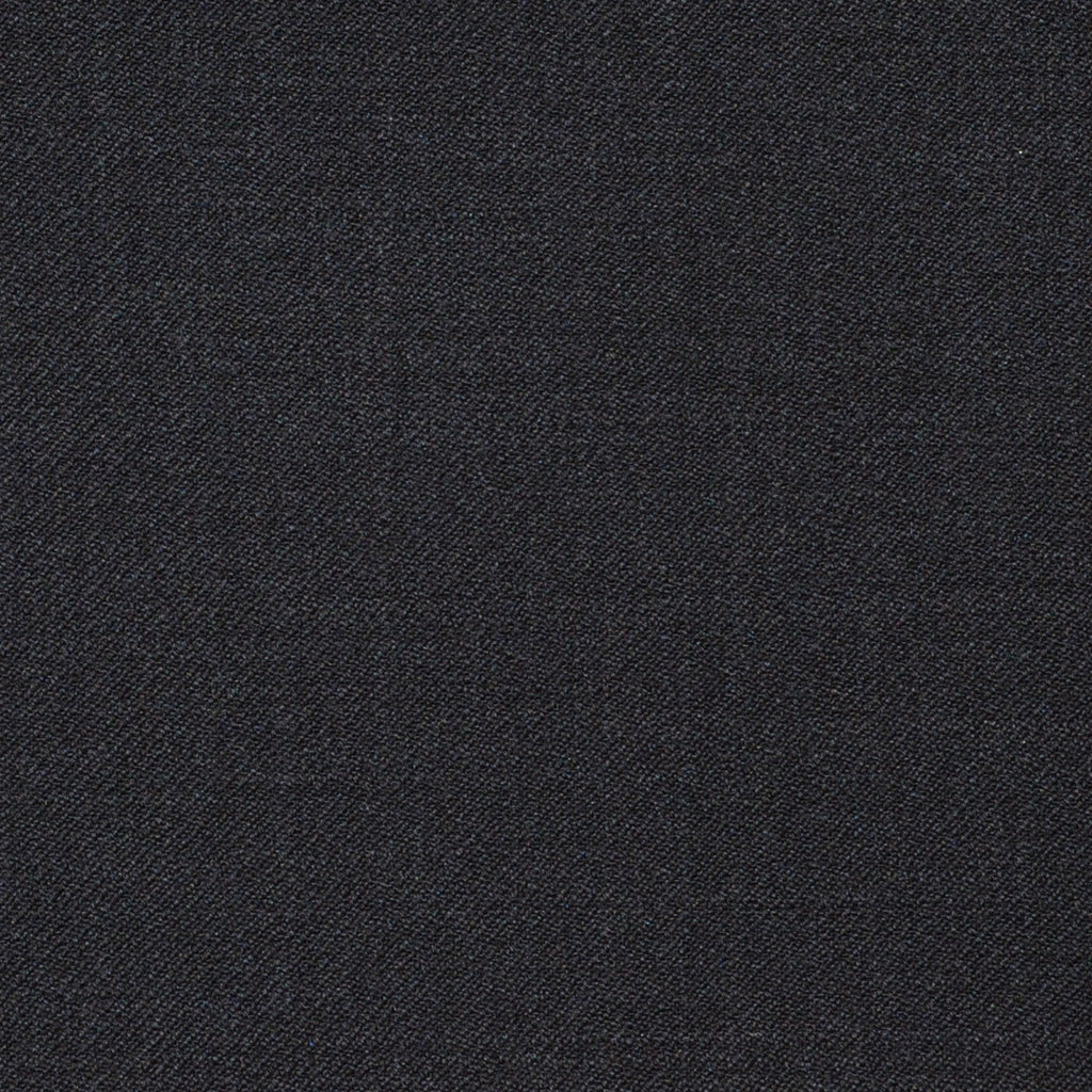 Dark Brown Plain Twill Super 120's All Wool Suiting