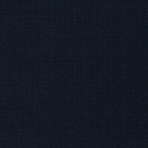 Dark Navy Plain Twill Super 120's All Wool Suiting