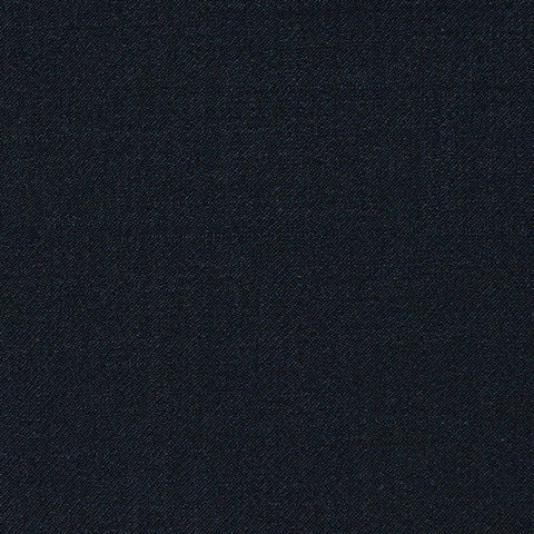 Black Plain Twill Super 120's All Wool Suiting