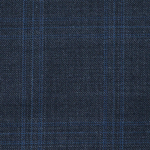 Grey Glen Check Super 120's All Wool Suiting