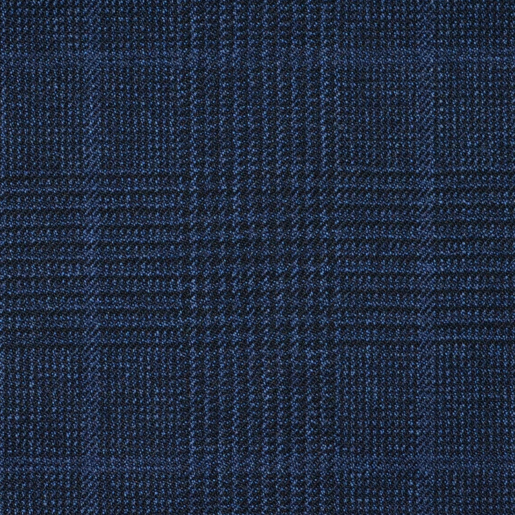 Blue Glen Check Super 120's All Wool Suiting