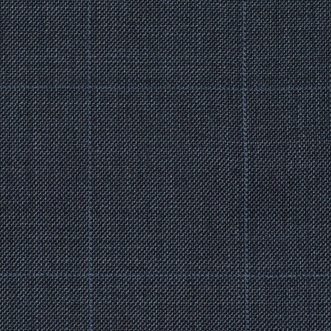 Grey Sharkskin Check Super 120's All Wool Suiting