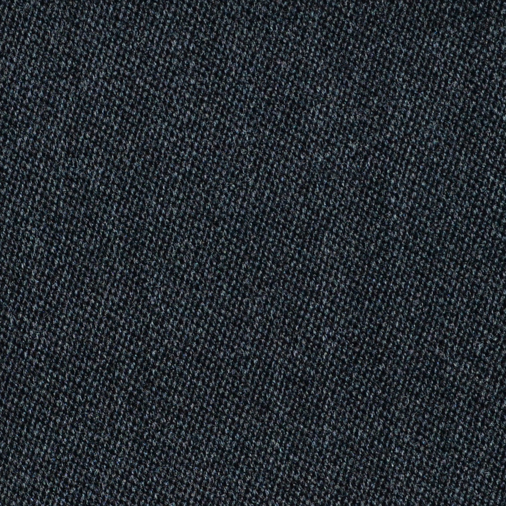 Dark Grey Venetian Pure New Wool Suiting