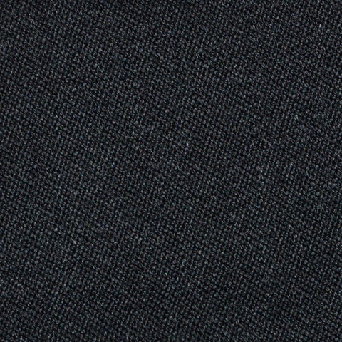 Charcoal Grey Venetian Pure New Wool Suiting