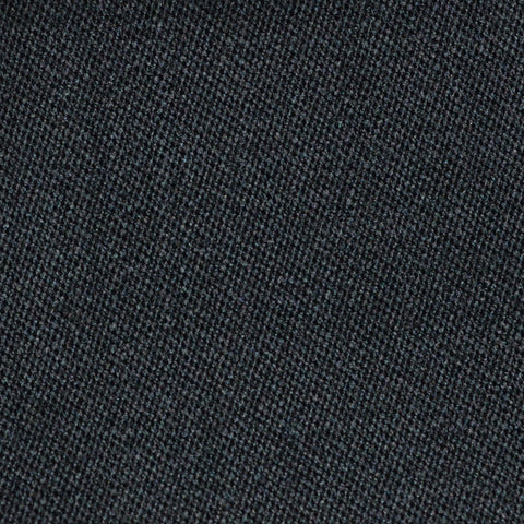 Black Venetian Pure New Wool Suiting