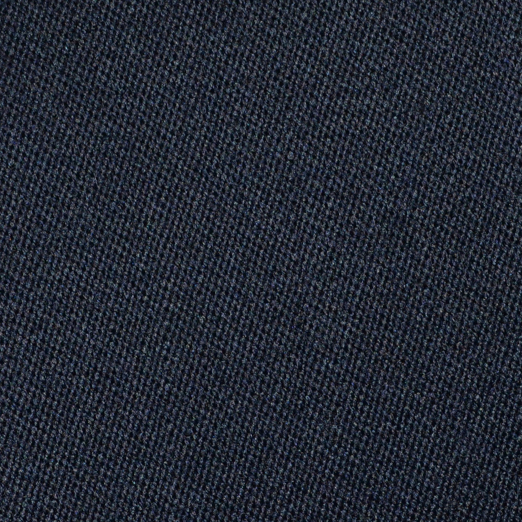 Navy Blue Venetian Pure New Wool Suiting