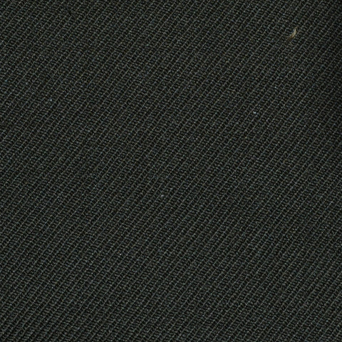 Dark Olive Green Cavalry Twill Pure New Wool Suiting