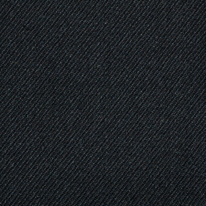 Charcoal Grey Cavalry Twill Pure New Wool Suiting