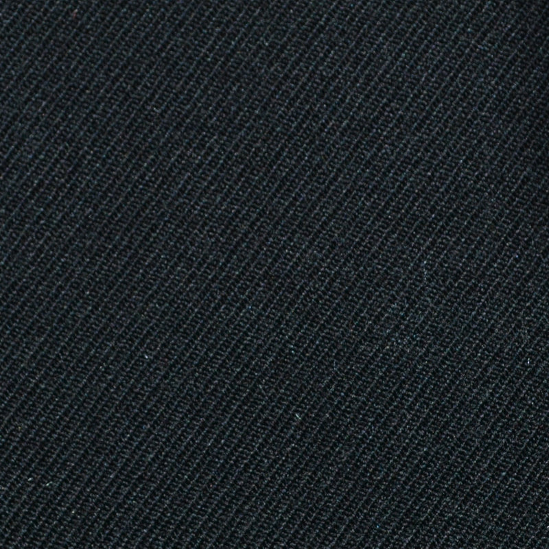 Black Cavalry Twill Pure New Wool Suiting