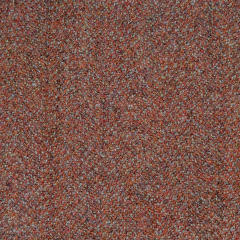 Orange & Brown Tweed