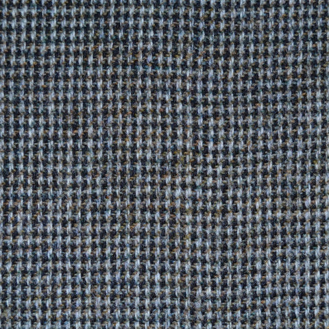 Medium Grey Herringbone Lambswool Tweed