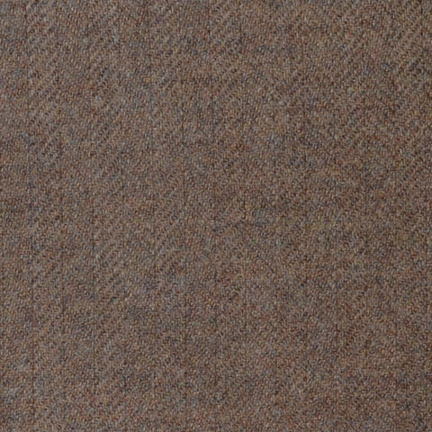 Tan Herringbone Lambswool & Cashmere Jacketing