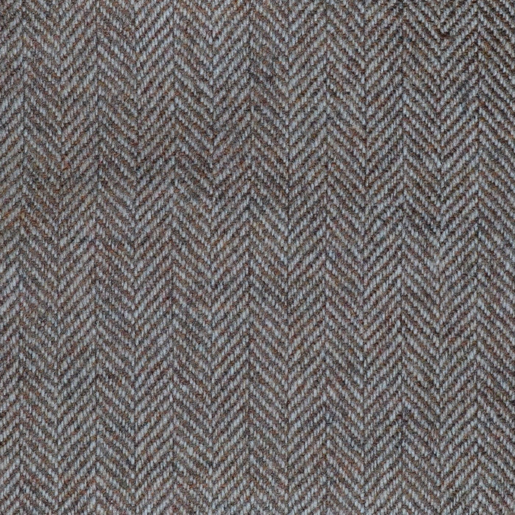 Light Brown Herringbone Lambswool & Cashmere Jacketing