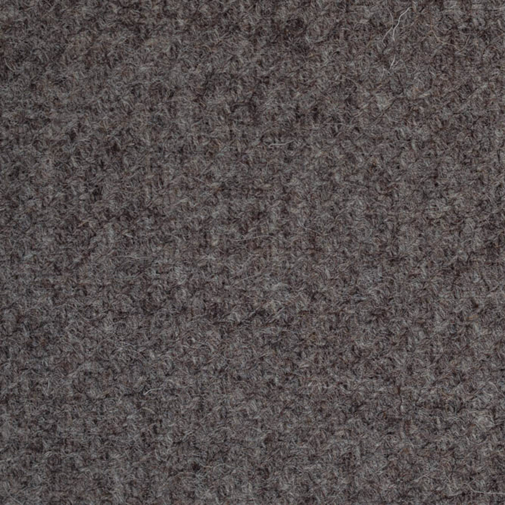 Grey/Brown Plain Weave Natural Undyed Tweed
