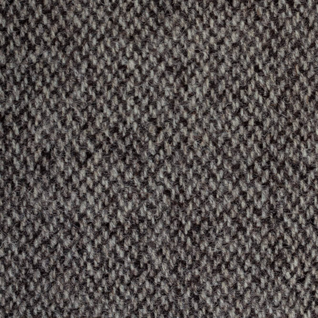 Grey/Brown Barleycorn Weave Natural Undyed Tweed