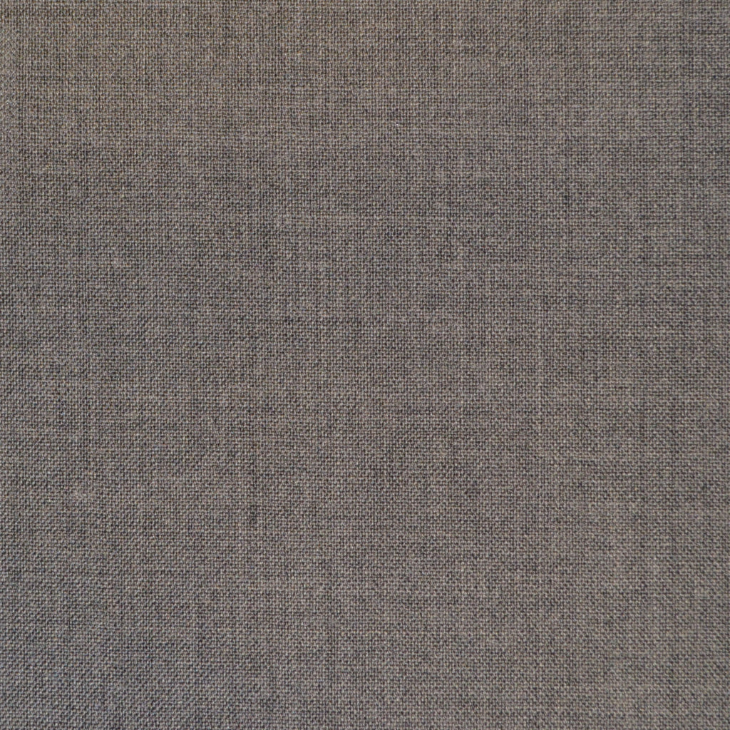 Medium Grey Plain Weave Super 120's Suiting