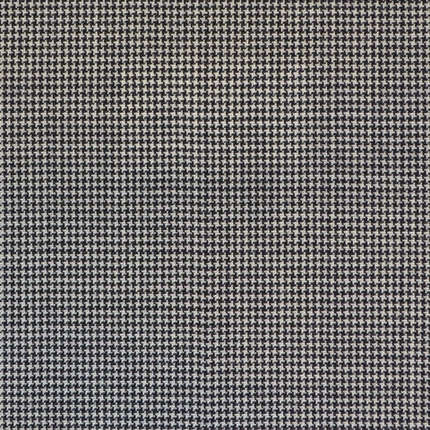Black & White Dogtooth Super 120's Suiting
