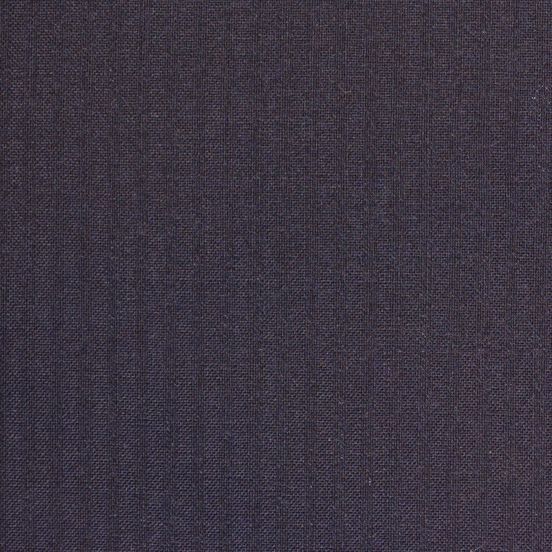 Navy Blue Self Stripe Super 120's Suiting