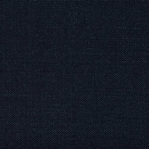 Dark Navy Blue Wool & Kid Mohair Suiting