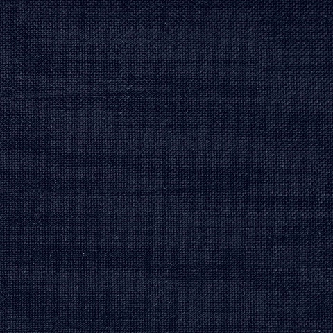 Navy Blue Wool & Kid Mohair Suiting